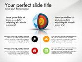 Presentation Templates: Terra nucleo presentazione concetto #03019