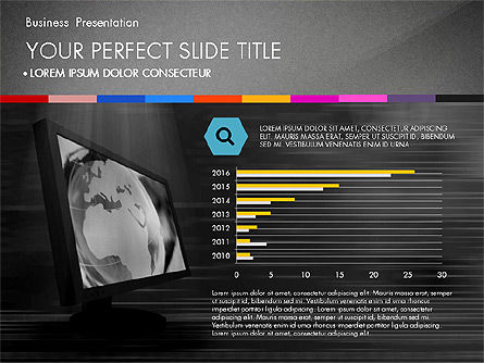 Jaw-Dropping Presentation Template, Slide 11, 03020, Presentation Templates — PoweredTemplate.com