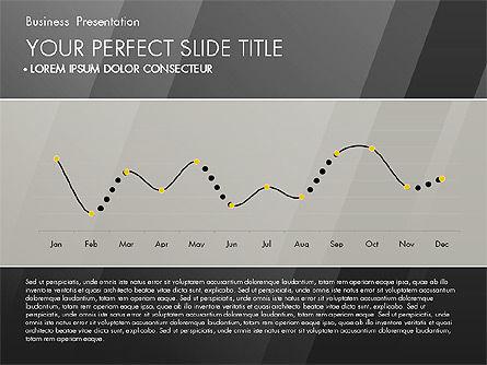 Business Presentation with Creative Charts, Slide 11, 03021, Presentation Templates — PoweredTemplate.com