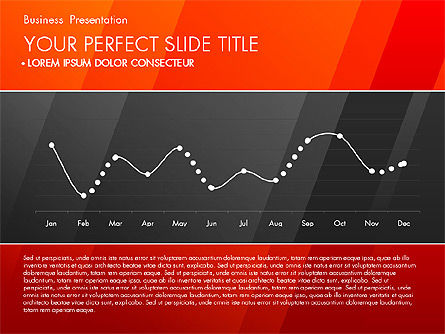 Business Presentation with Creative Charts, Slide 3, 03021, Presentation Templates — PoweredTemplate.com