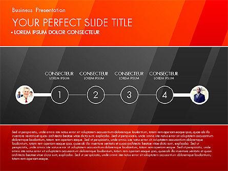 Business Presentation with Creative Charts, Slide 6, 03021, Presentation Templates — PoweredTemplate.com