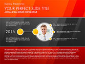 Presentation Templates: Business Presentation with Creative Charts #03021