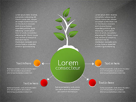 Growth Concept Diagrams, Slide 10, 03022, Process Diagrams — PoweredTemplate.com