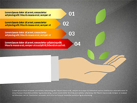 Growth Concept Diagrams, Slide 13, 03022, Process Diagrams — PoweredTemplate.com