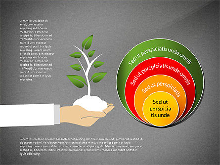 Growth Concept Diagrams, Slide 16, 03022, Process Diagrams — PoweredTemplate.com