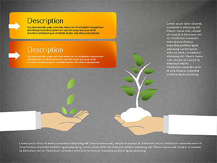 Growth Concept Diagrams, Slide 9, 03022, Process Diagrams — PoweredTemplate.com
