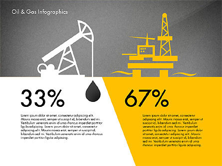 Oil and Gas Presentation Infographics, Slide 10, 03023, Infographics — PoweredTemplate.com