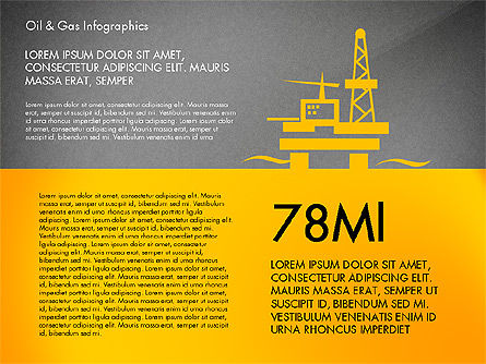 Oil and Gas Presentation Infographics, Slide 12, 03023, Infographics — PoweredTemplate.com