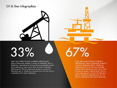 Oil and Gas Presentation Infographics, Slide 2, 03023, Infographics — PoweredTemplate.com