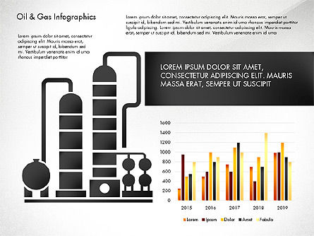 Oil and Gas Presentation Infographics, Slide 3, 03023, Infographics — PoweredTemplate.com