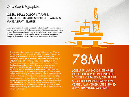Oil and Gas Presentation Infographics, Slide 4, 03023, Infographics — PoweredTemplate.com