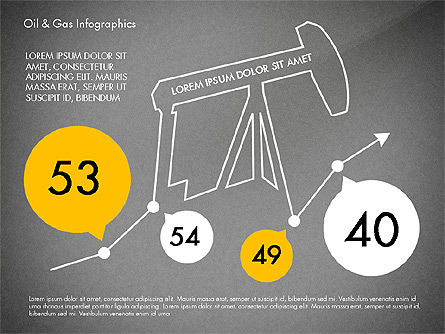 Oil and Gas Presentation Infographics, Slide 9, 03023, Infographics — PoweredTemplate.com