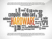 Presentation Templates: Hardware modello di presentazione #03026