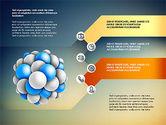 Presentation Template with Molecule Shape#13