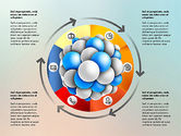 Presentation Template with Molecule Shape#3