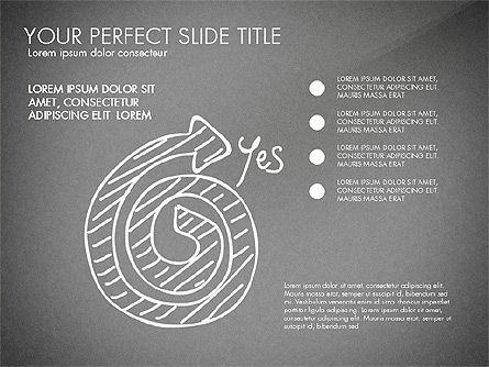 Sketch Style Business Presentation, Slide 11, 03030, Flow Charts — PoweredTemplate.com