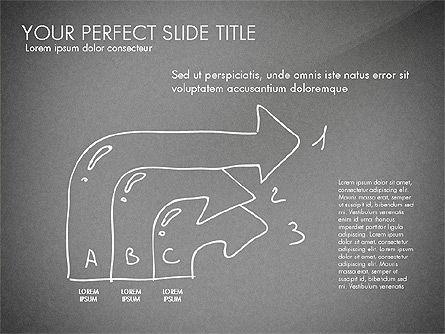 Sketch Style Business Presentation, Slide 13, 03030, Flow Charts — PoweredTemplate.com