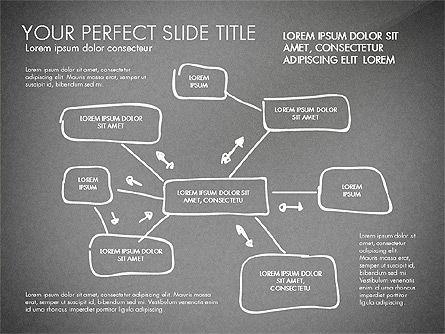 Sketch Style Business Presentation, Slide 14, 03030, Flow Charts — PoweredTemplate.com
