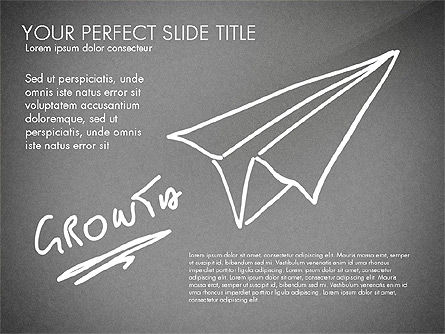 Sketch Style Business Presentation, Slide 16, 03030, Flow Charts — PoweredTemplate.com