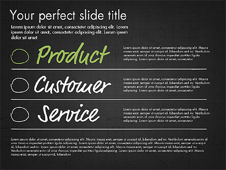Idea Presentation Concept Template, Slide 12, 03032, Presentation Templates — PoweredTemplate.com