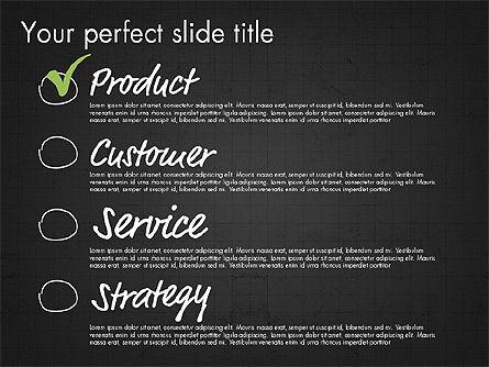 Idea Presentation Concept Template, Slide 14, 03032, Presentation Templates — PoweredTemplate.com