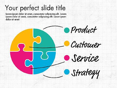 Idea Presentation Concept Template, Slide 2, 03032, Presentation Templates — PoweredTemplate.com