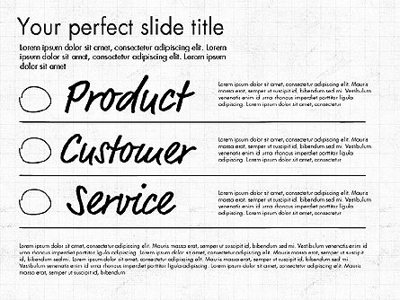 Idea Presentation Concept Template, Slide 4, 03032, Presentation Templates — PoweredTemplate.com