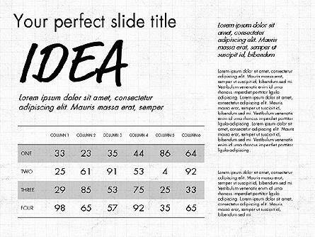 Idea Presentation Concept Template, Slide 5, 03032, Presentation Templates — PoweredTemplate.com