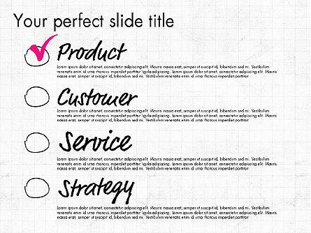 Idea Presentation Concept Template, Slide 6, 03032, Presentation Templates — PoweredTemplate.com