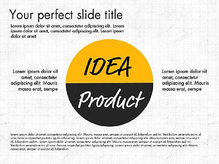 Idea Presentation Concept Template, Slide 8, 03032, Presentation Templates — PoweredTemplate.com