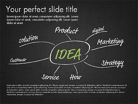 Idea Presentation Concept Template, Slide 9, 03032, Presentation Templates — PoweredTemplate.com