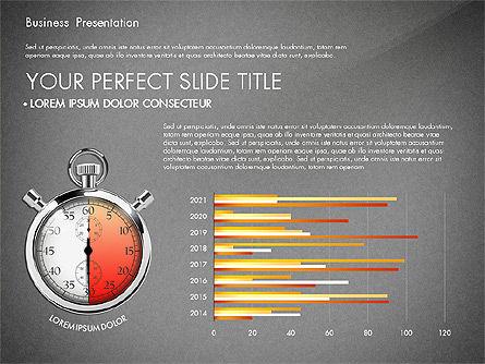 Time Management Process Presentation Concept, Slide 10, 03033, Process Diagrams — PoweredTemplate.com