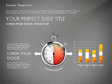 Time Management Process Presentation Concept, Slide 11, 03033, Process Diagrams — PoweredTemplate.com