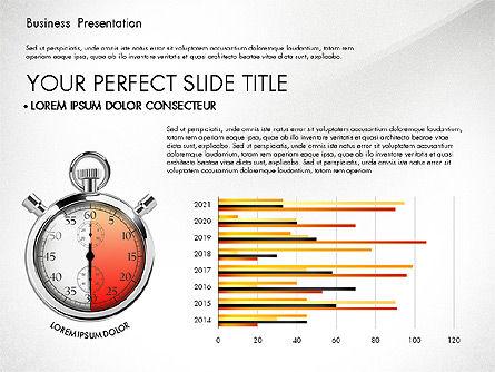 Time Management Process Presentation Concept, Slide 2, 03033, Process Diagrams — PoweredTemplate.com