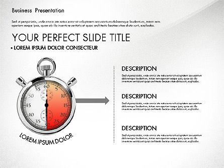 Time Management Process Presentation Concept, Slide 5, 03033, Process Diagrams — PoweredTemplate.com