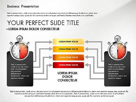 Time Management Process Presentation Concept, Slide 8, 03033, Process Diagrams — PoweredTemplate.com