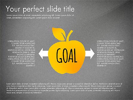 Reaching the Goal Concept, Slide 10, 03034, Business Models — PoweredTemplate.com