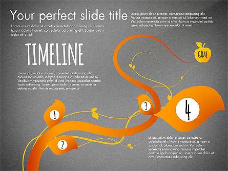 Reaching the Goal Concept, Slide 13, 03034, Business Models — PoweredTemplate.com