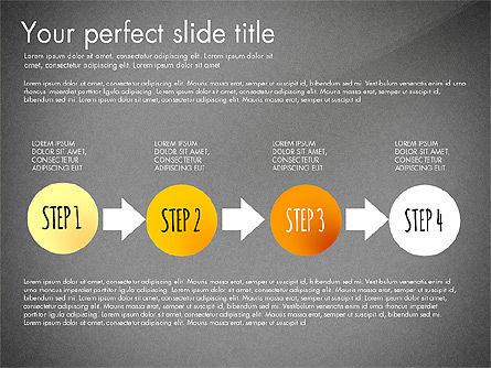 Reaching the Goal Concept, Slide 14, 03034, Business Models — PoweredTemplate.com