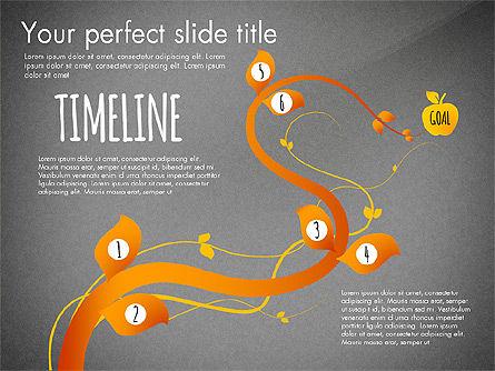 Reaching the Goal Concept, Slide 15, 03034, Business Models — PoweredTemplate.com