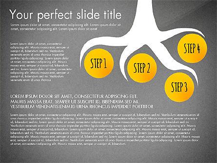 Reaching the Goal Concept, Slide 16, 03034, Business Models — PoweredTemplate.com