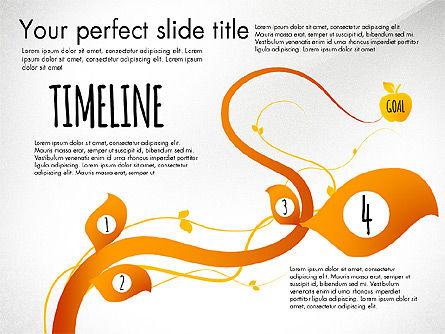 Reaching the Goal Concept, Slide 5, 03034, Business Models — PoweredTemplate.com