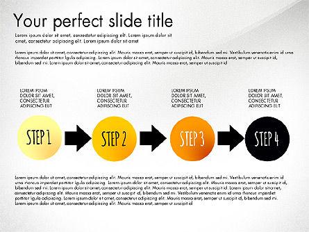 Reaching the Goal Concept, Slide 6, 03034, Business Models — PoweredTemplate.com