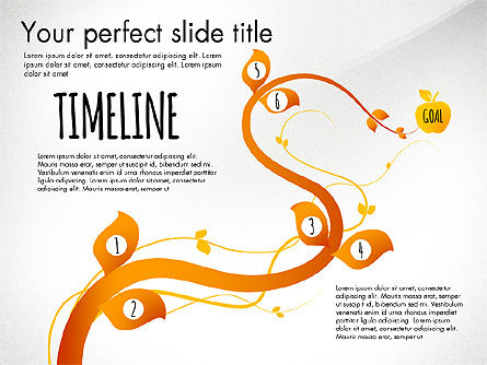 Reaching the Goal Concept, Slide 7, 03034, Business Models — PoweredTemplate.com