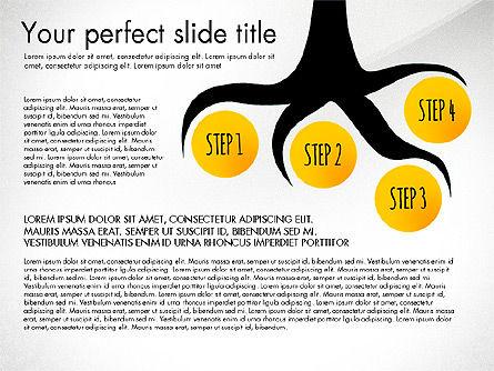 Reaching the Goal Concept, Slide 8, 03034, Business Models — PoweredTemplate.com