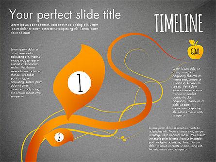 Reaching the Goal Concept, Slide 9, 03034, Business Models — PoweredTemplate.com