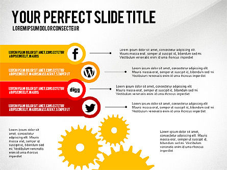 Presentation Templates: Social Related Presentation Template #03035