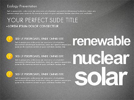 Renewable Energy Word Cloud Presentation Template, Slide 10, 03037, Presentation Templates — PoweredTemplate.com