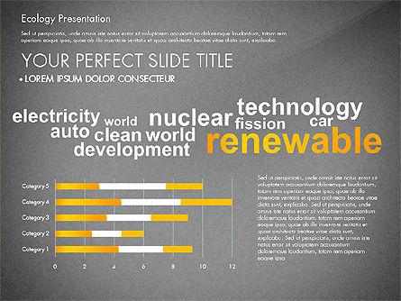 Renewable Energy Word Cloud Presentation Template, Slide 11, 03037, Presentation Templates — PoweredTemplate.com