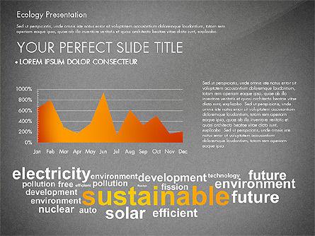 Renewable Energy Word Cloud Presentation Template, Slide 12, 03037, Presentation Templates — PoweredTemplate.com